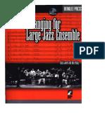 arranging for large jazz ensemble - berklee press
