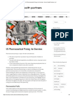 US Pharmaceutical Pricing_ an Overview – Axene Health Partners, LLC