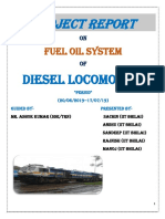 Project Report on Fuel Oil System Final