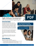 Agile Software Development Outline (InHouse)