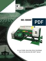 DE1000 GBD LP Derick Centrifuge