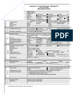 Datasheet for Temperature Transmitter_process Data