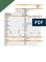 pump data sheet