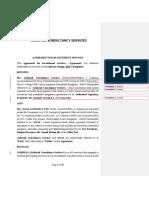 Recruitment Services Agreement