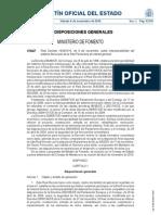 Real Decreto Interoperabilidad Sistema Ferroviario