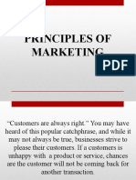 Dimensions of Relationship Marketing in Business to Business