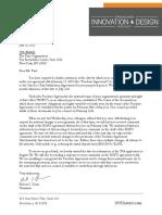 I-195 Letter to Fane Organization 7.30.19