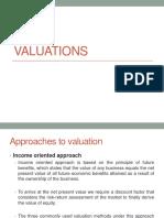 valuation class