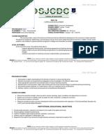 Edu 105 Curr Development - Obe Syllabus
