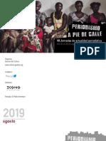 Periodismo a pie de calle 2019