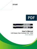 Video Controller VX4 Series User Manual-V1.0.0