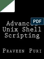 Adv Unix Scripting