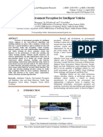 Review of Environment Perception for Intelligent Vehicles
