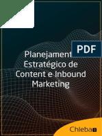 Planejamento Estrategico Content Inbound Marketing Chleba