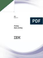 IBM Basic Printing