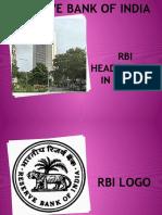 Rbi Headquarter in Mumbai
