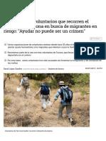 Un Día Con Los Voluntarios Que Recorren El Desierto de Arizona en Busca de Migrantes en Riesgo_ _Ayudar No Puede Ser Un Crimen