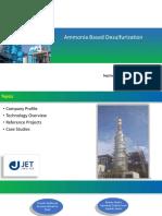 Ammonia Based Desulferization