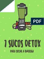 7 Sucos Detox - GRÁTIS