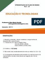 Aula 1 PEA Educacao e Tecnologias 17-02-2017 1