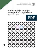 Zbornik Radova Filozofija Medija Mediji i Alternativa