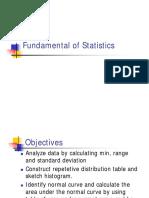 Topic 1.0 Statistics QC
