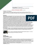A Review of the En Do Parasites of Mountain Gorillas