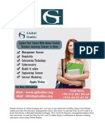 Global Studies Provides Business Management, University 1st & 2nd Year (Level 4 and 5) Course