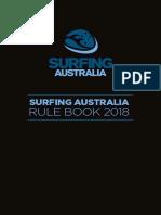 Surfing Australia 2019 rulebook