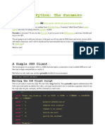 Black Hat Python the Paramiko Module