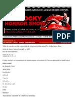 Audición Rocky Horror 2017