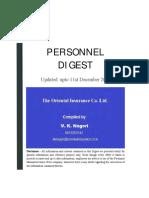Personnel Manual Oriental