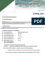 C POL Resin properties