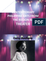 Contemporary Ph Arts From The Region 4A Theater