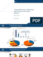 Current Refractory Technology and Practices in the Steel Industry