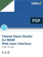 Talendopenstudio Mdm Webui Ug 5.4.0 En