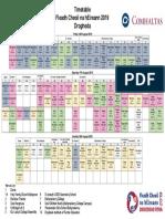 All Ireland Fleadh Timetable 2019