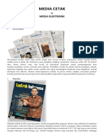 Media Cetak Dan Media Elektronik