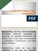 Pagpapatibay Ng Turismo