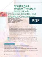 Prophylactic Acid-Suppressive Therapy in Hospitalized Adults - Indications, Benefits, And Infectious Complications - Critical Care Nurse 2017