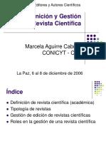 La Paz Marcela Aguirre Definicion