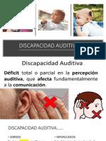 DISCAPACIDAD AUDITIVA antologia