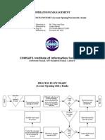 Process Flowchart (Account Opening)