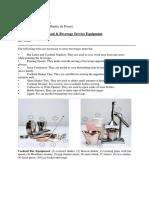 (F & B SERVICE EQUIPMENT.docx