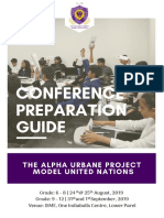 Conference Preparation Guide