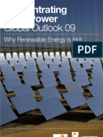 Green Peace Estela Solar Paces Concentrating Solar Power - Global Outlook 2009