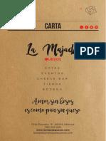 Carta La Majada 2018 Web