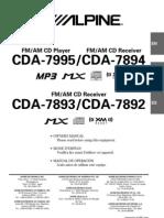 Alpine CDA 7894RB