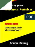 Manual técnicas criativas de composição musical