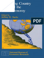 Jeffrey D. Sachs - Developing Country Debt and the World Economy (1989, University of Chicago Press)